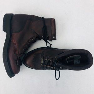 Double-H Lacer Non Marking Brown Riding Boots